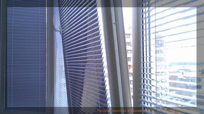 Тип жалюзи: горизонтальные, материал: алюминий, вариант монтажа: на створку окна, управление: механическое (ручное)